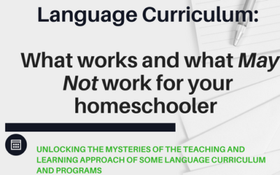 Language Curriculum